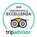 Logo Tripadvisor Certificato 2018