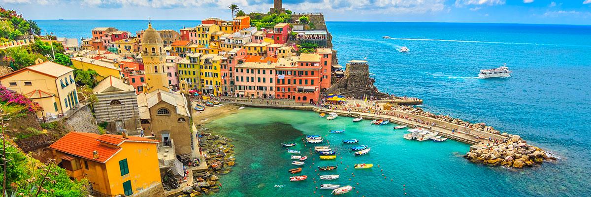 Tour en barca a las Cinque Terre