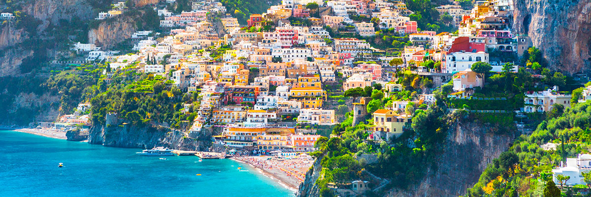 Boat tours from positano