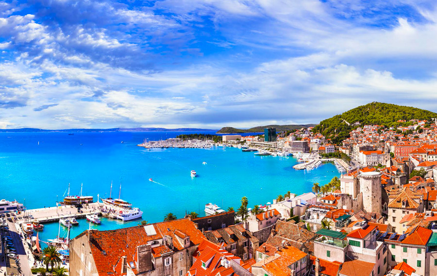 Group tours by boat from Split