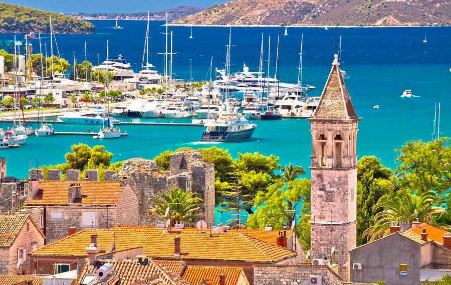 Group tours by boat from trogir