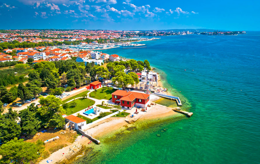Group tours by boat from Zadar