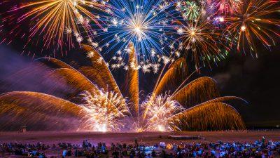 Fuochi d'artificio Sorrento - Sant'Anna