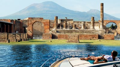 Pompeii and Vesuvius Boat Tour