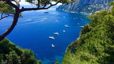 Tour in barca da Positano a Capri
